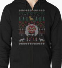 Ugly Princess Sweater Zipped Hoodie