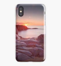 Sunrise over Bracelet Bay iPhone Case
