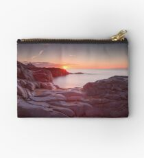 Sunrise over Bracelet Bay Studio Pouch