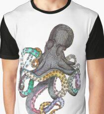 MULTICOLOUR OCTOPUS Graphic T-Shirt