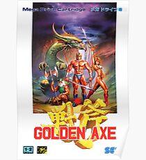 Golden Axe Japanese Cover  Poster
