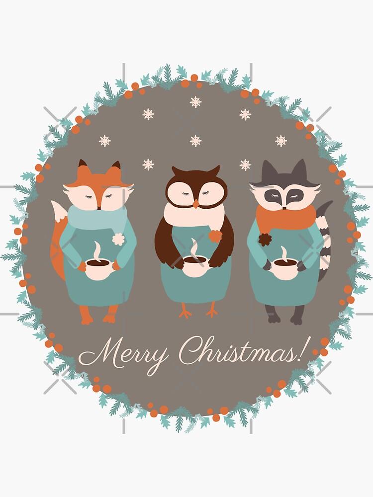 Woodland Christmas  by Elenanaylor