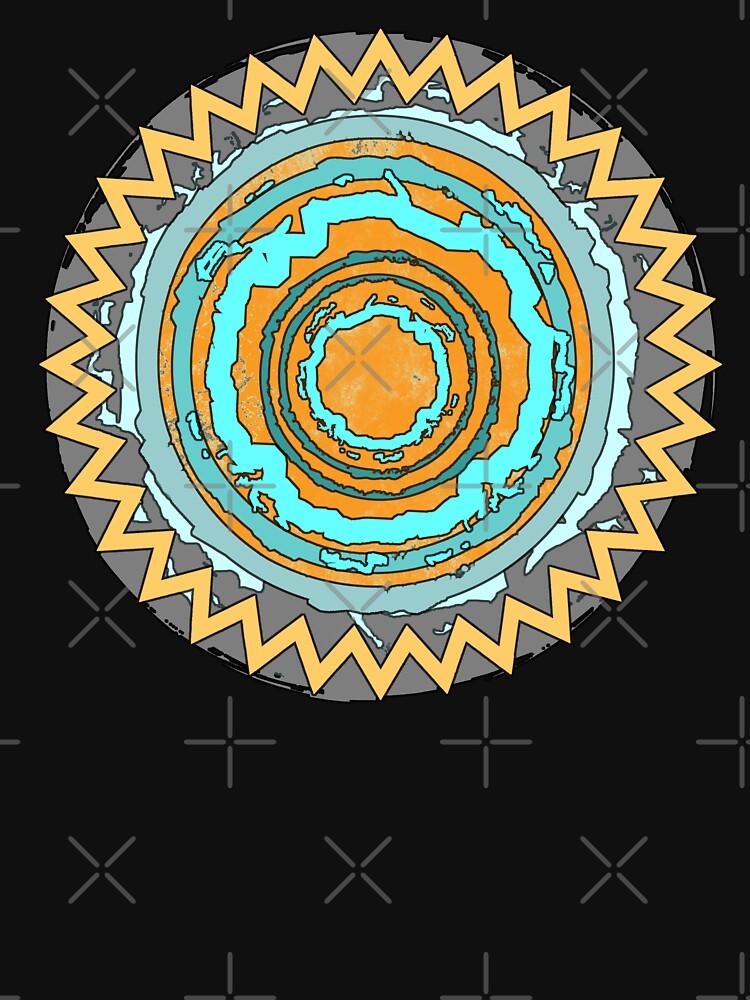 Magischer Kreis Bunt von Periartwork