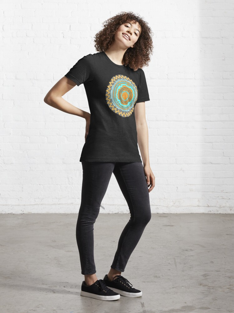 Alternative Ansicht von Magischer Kreis Bunt Essential T-Shirt