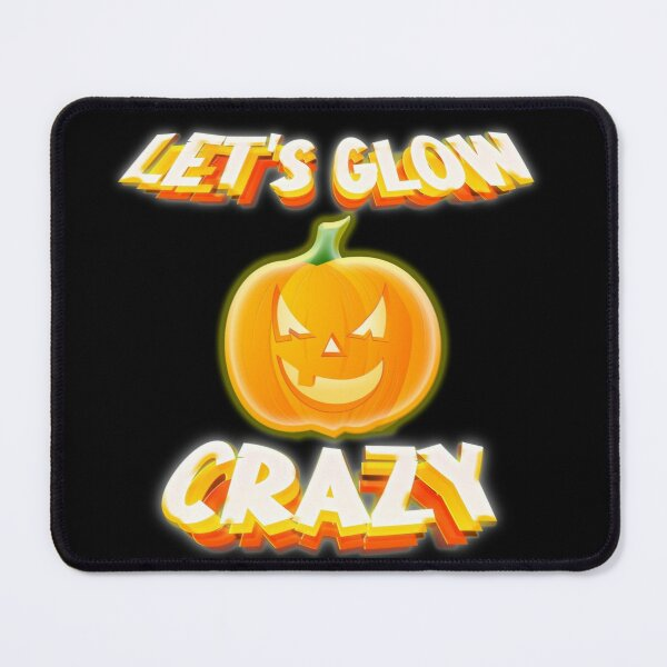 Let'S Glow Crazy Retro Mouse Pad