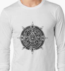 Mesoamerica - Aztec Calendar Long Sleeve T-Shirt