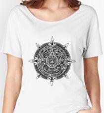 Mesoamerica - Aztec Calendar Women's Relaxed Fit T-Shirt
