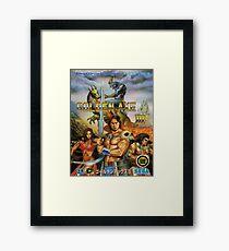 Golden Axe III Sega Genesis Japanese Cover Framed Print