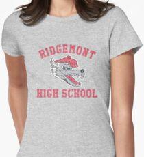 Ridgemont High School Womens Fitted T-Shirt