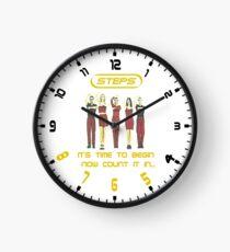Steps 5,6,7,8 Clock Clock