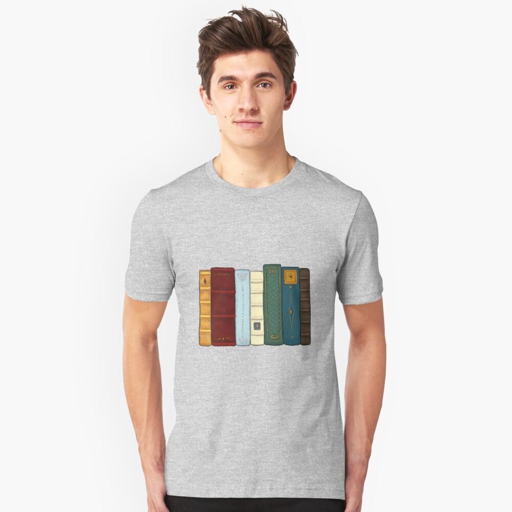 Amo la literatura Camiseta ajustada