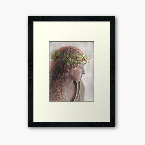 Aubépine Framed Art Print