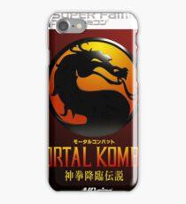 Mortal Kombat Japanese Cover  iPhone Case/Skin