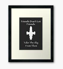 Friends Series - Firefly Framed Print