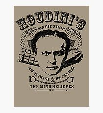 Houdini's Magic Shop Photographic Print