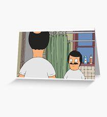 Mini Bob- Gene Bobs Burgers Greeting Card