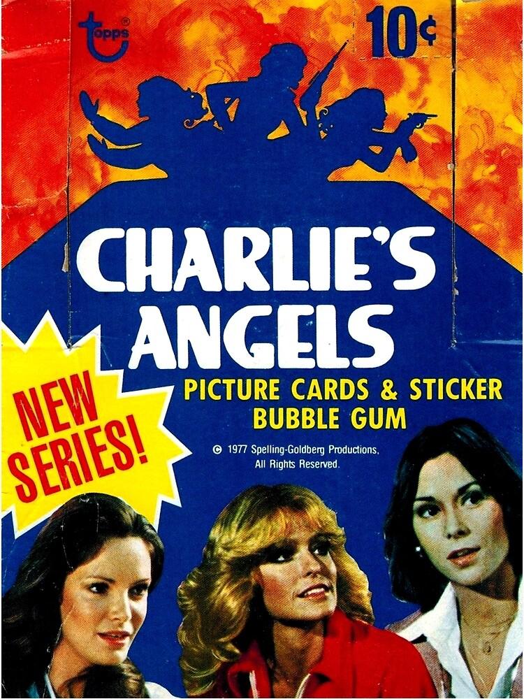 Farrah Fawcett//Kate Jackson Vintage Charlie Angels Poster