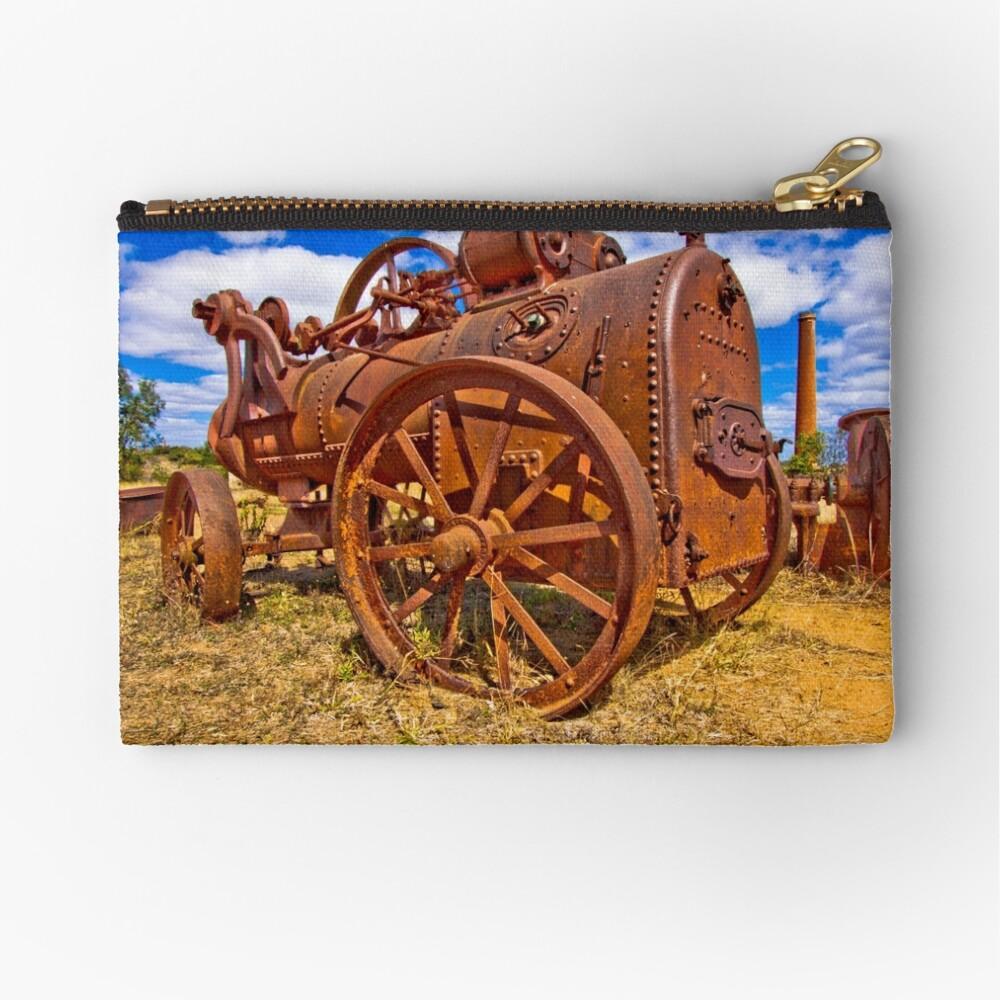 Rusty Steam Zipper Pouch
