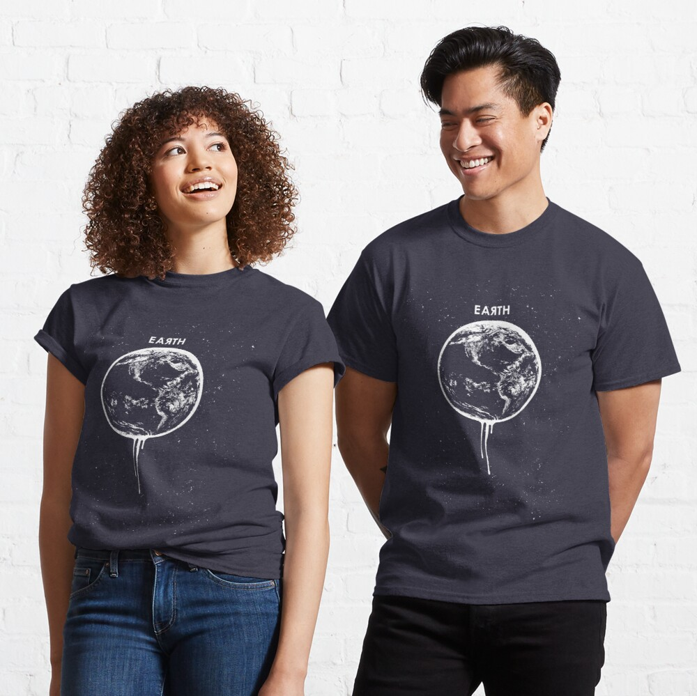 Melting Earth Classic T-Shirt