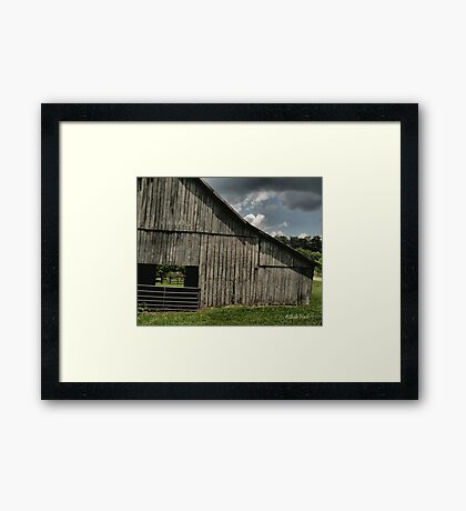 """""""FARMER'S HANGOUT""""... prints and products Framed Print"""