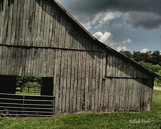 """""""FARMER'S HANGOUT""""... prints and products by © Bob Hall"""