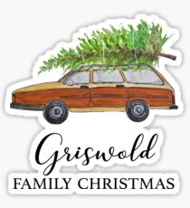 Christmas vacation Griswold family Christmas Sticker