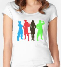 Team Avatar Art Women's Fitted Scoop T-Shirt