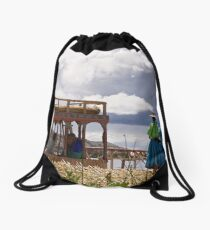 The Farewell Committee Drawstring Bag
