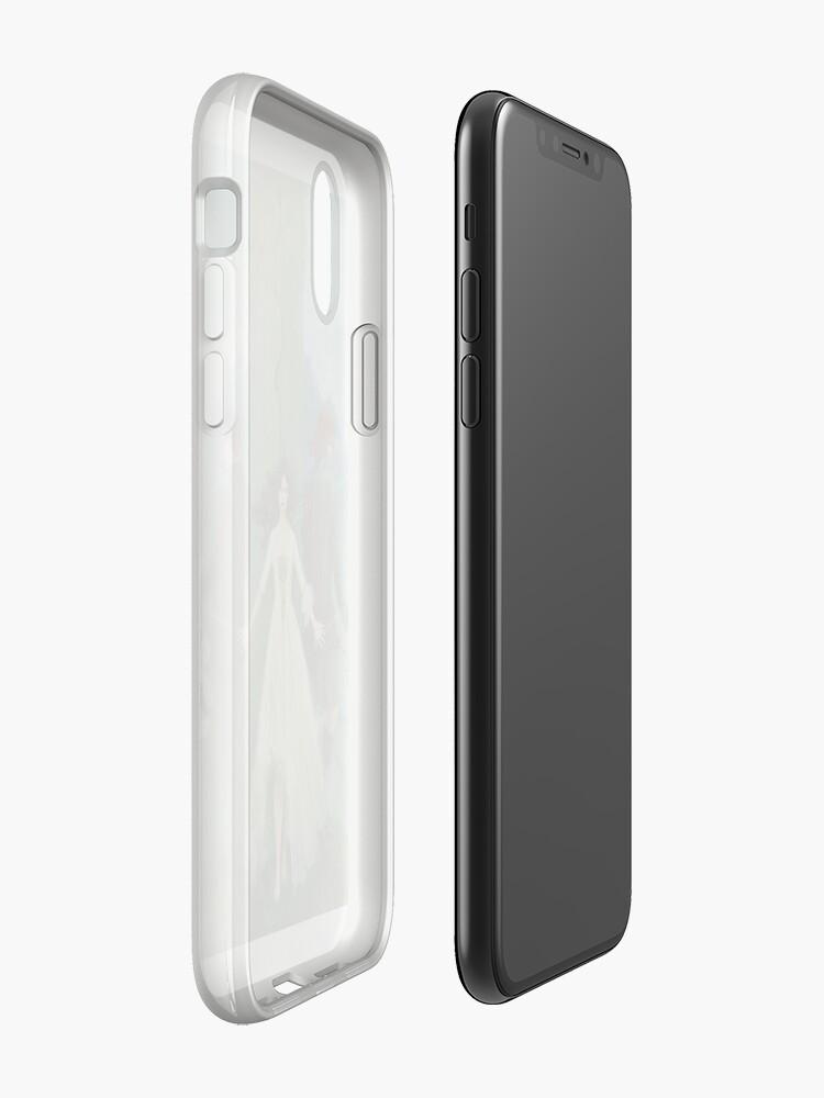 Vista alternativa de Funda y vinilo para iPhone Ahora ambos lados