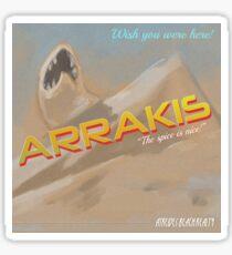 Dune Arrakis Vacation Sticker