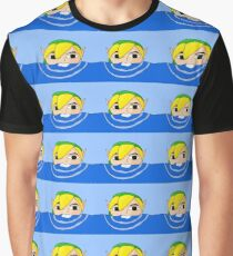 Swimming Link Graphic T-Shirt