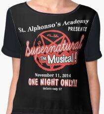 Supernatural The Musical Chiffon Top