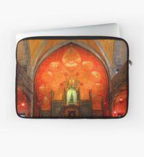 Rocamadour, France, La Chapelle Notre Dame Laptop Sleeve