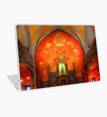 Rocamadour, France, La Chapelle Notre Dame Laptop Skin