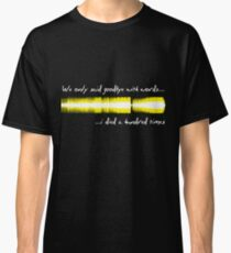 Sound WAV - Amy Winehouse Classic T-Shirt