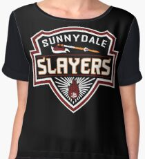 Sunnydale Slayers Women's Chiffon Top