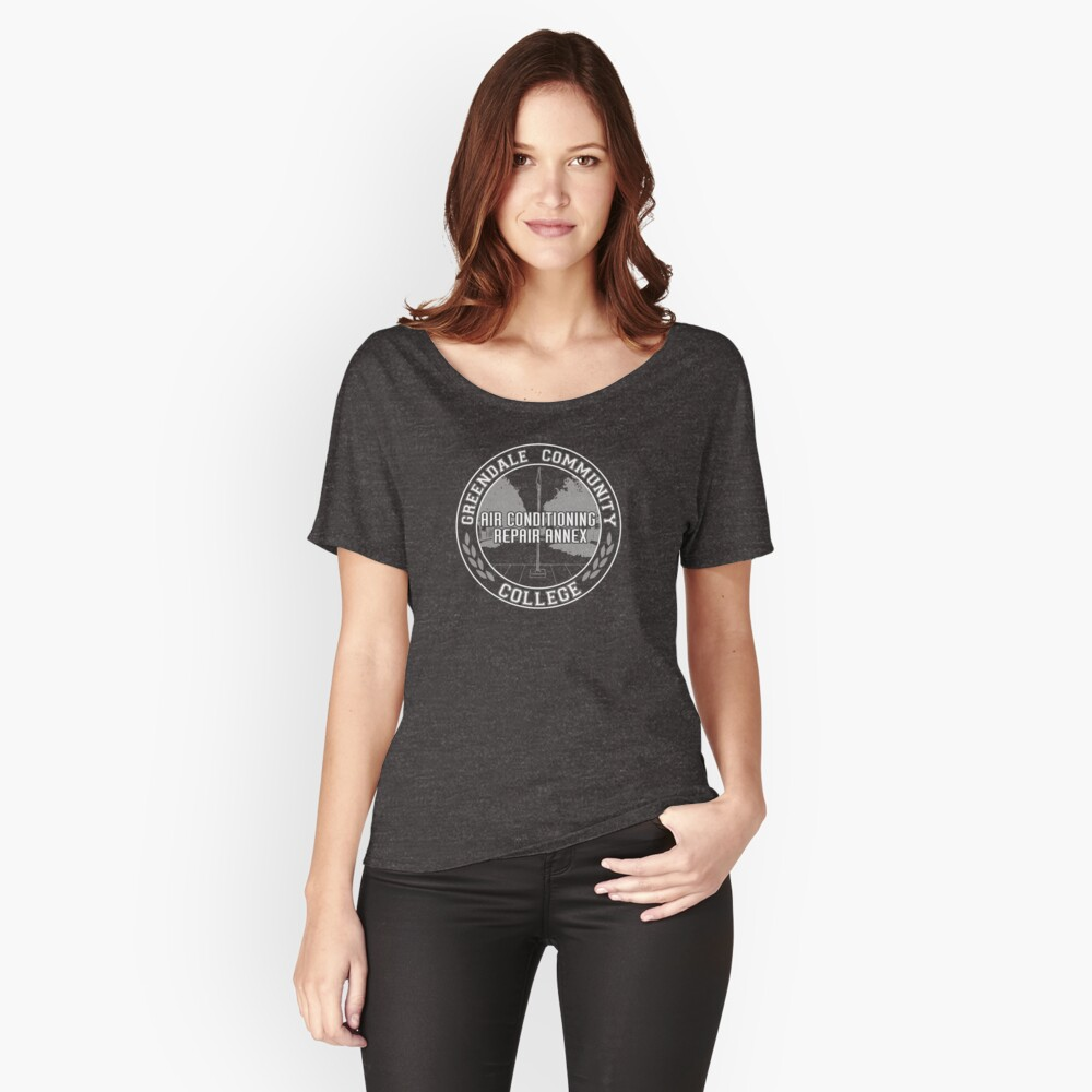 Greendale AC Repair Annex Women's Relaxed Fit T-Shirt Front