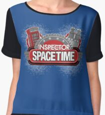 Inspector Spacetime Blorgon Edition Women's Chiffon Top