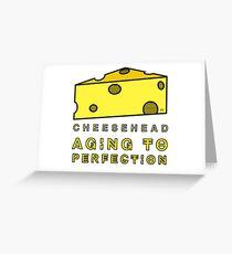 CHEESEHEAD Greeting Card