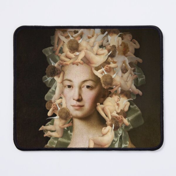 Angel hair Mouse Pad