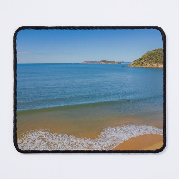 Crisp, clean and fresh - a Winters day at the seaside Mouse Pad