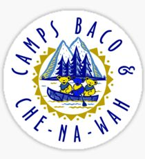 Grateful Dead Camps Baco and Che-na-wah Sticker