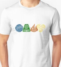 Water, Earth, Fire, Air Unisex T-Shirt