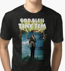 God Bless Tiny Tim Tri-blend T-Shirt