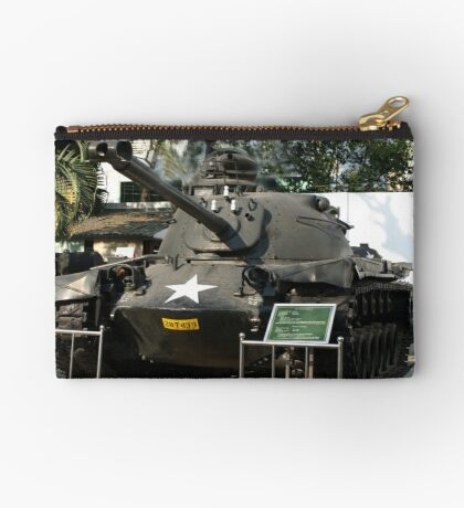 M.48 A3 Tank (US) in Military Museum, Saigon  Studio Pouch