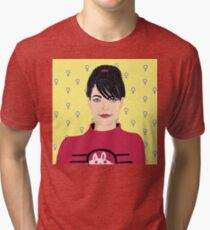 Kathleen Hanna Tri-blend T-Shirt