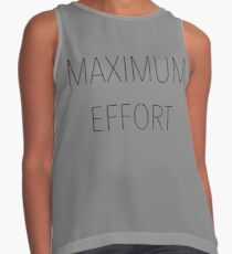 Maximum Effort Contrast Tank