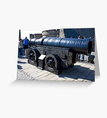 Mons Meg Greeting Card