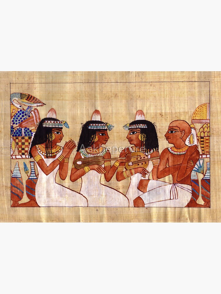 Egyptian Musicians by Aakheperure