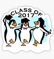 Graduation Penguins - Class of 2017 Sticker